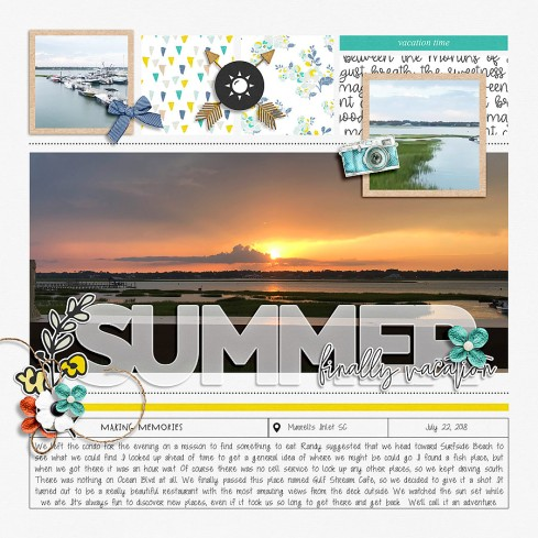 A Story Captured Vol 15 | Part 2 by Anita Designs Make It Count: August 2018 Collection by Anita Designs