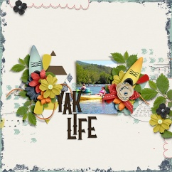 Summertime: On The Water Collection by River~Rose Mix It Up Vol. 4 by Crystal Livesay