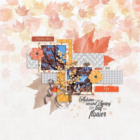 As the Leaves Turn Bundle by Designed by Irma