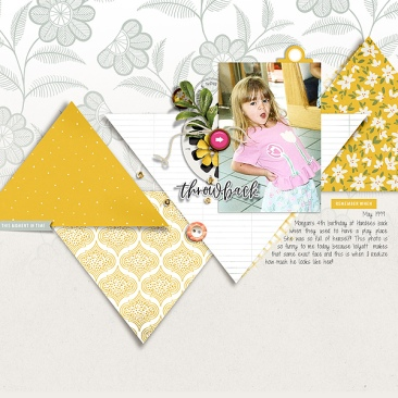 Throwback Papers by Sahin Designs Throwback Elements by Sahin Designs Joyful Templates by Scrapping with Liz