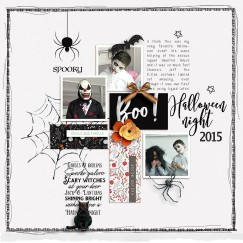 Spooked | DSD 2018 Grab Bag by Anita Designs and Dunia Designs Make It Count: August 2018 | Templates by Anita Designs