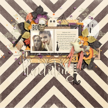 Haunted Halloween Collection by River~Rose Picture Perfect by Crystal Livesay and Heartstrings Scrap Art