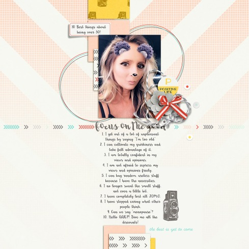 Focus on the Good by MEG Designs Easy Inspiration No. 3 by MEG Designs