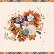 Thankful Hearts Collection by River~Rose Picture Perfect Templates by Crystal Livesay