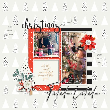 December Stuff | Grab Bag by Dunia Designs Cold Hand Warm Heart Templates by Designed by Irma