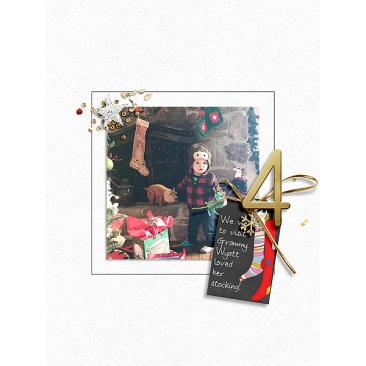 December Memories 2018 - 6x8 Templates by Designed by Soco Chalkboard Holiday Tags by Etc. by Danyale December Days No. 4 by Sahlin Studio Home for the Holidays Paper Pack by Sahlin Studio Home for the Holidays Elements by Sahlin Studio Falalalala Elements by Rachel Jefferies
