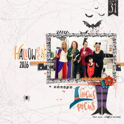 Hocus Pocus - Storyteller October 2018 Add-on by Just Jaimee Sept 2018 Layout Templates by Sahin Designs