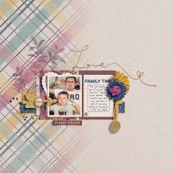 Hearth and Home Mini Kit by Dawn by Design Quick Scraps Vol. 6 by Anita Designs