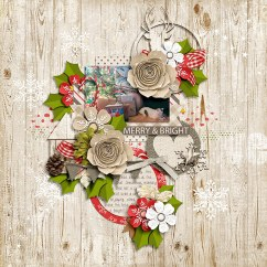 Home for Christmas Collection by River~Rose A Million Little Things Templates by Crystal Livesay