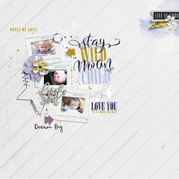 Starry Night - Storyteller 2018 November Add-on by Just Jaimee Templates - Storyteller 2018 November Add-on by Just Jaimee
