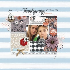 November Documented 2018 Kit by Rachel Etrog Designs Cold Hands Warm Heart Templates by Designed by Irma