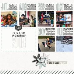 Year in Review Kit - Storyteller 2018 December Add-on by Just Jaimee Year in Review Journal Cards - Storyteller 2018 December Add-on by Just Jaimee