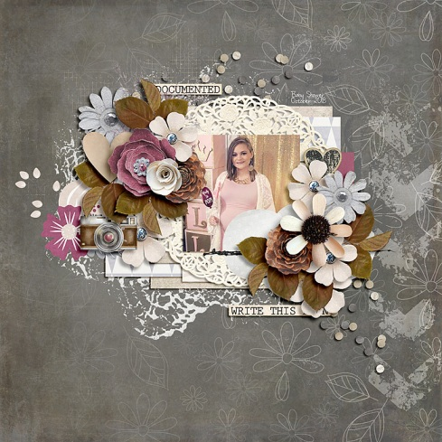 Old Letters Collection by River~Rose A Million Little Things Templates by Crystal Livesay