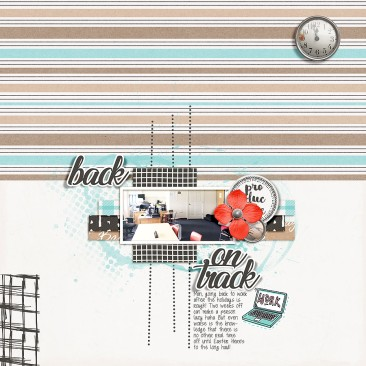 Back to Work - TDP Designer Collaboration Dreams Template by Designed by Irma