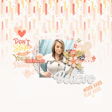 Don't Stop Believing Mini Theme Kit Bundle - Storyteller January 2019 Add-on by Just Jaimee