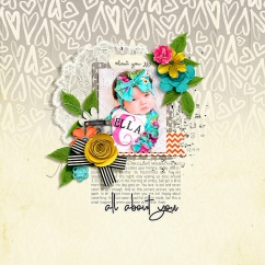 You: 101 Bundle by River~Rose and Studio Basic February Happened Templates by Crystal Livesay