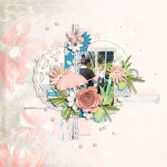 Softly Spring: Collection by River~Rose Dream Emporium Templates by Crystal Livesay