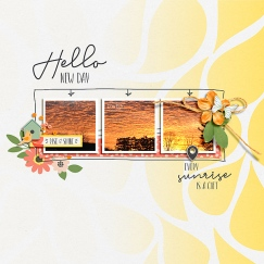 Another Sunrise Papers by Designed by Soco Another Sunrise Elements by Designed by Soco Sprung Templates by Pink Reptile Designs