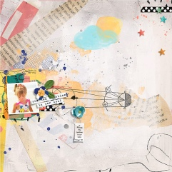 Sunshine in Her Soul Mixed Media Paperie by Rachel Jefferies Sunshine in Her Soul Mixed Media Artistry by Rachel Jefferies Sunshine in Her Soul Layered Template by Rachel Jefferies