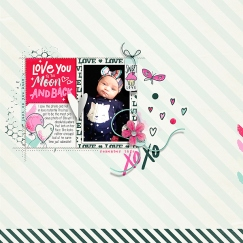 All You Need is Love Mini Theme Bundle - Storyteller 2019 February Add-on by Just Jaimee Good Times | Template by Pink Reptile Designs