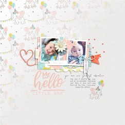 Little One Girl | Elements by Rachel Etrog Little One Girl | Papers by Rachel Etrog Make It Count March 2019 | Templates by Anita Designs