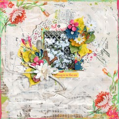 Bring May Flowers Collection by River~Rose and Studio Basic February Happened Templates by Crystal Livesay