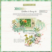 Green Thumb Mini Theme Kit - Storyteller May 2019 Add-on by Jaimee Storyteller 2016 October Sketched Template Add-on by Just Jaimee