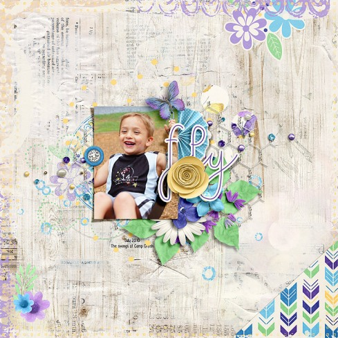 Flutter Collection by River~Rose iNSD 2019 Grab Bag by Crystal Livesay and Sara Gleason