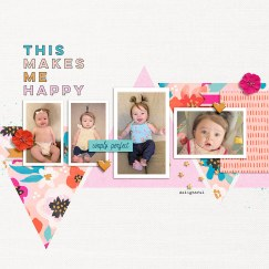 Sunkissed Afternoon: Kit by Sugarplum Paperie Colors of Spring | Templates by Anita Designs