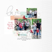 Love May Templates by Designed by Irma Documenting Every Day | May Collection by Dunia Designs