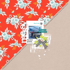 Messy Life Papers by Sahin Designs Messy Life Elements by Sahin Designs