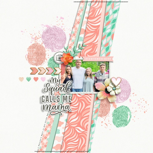Mom Life Mini Theme Kit - Storyteller May 2019 Add-on by Just Jaimee Sketched Template November 2016 by Just Jaimee