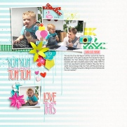 Description: Bright Days by Mommyish We Are Family {Dressed Down} by Fiddle-Dee-Dee Designs