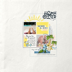 School's Out for Summer Mini Theme Kit Bundle - Storyteller 2019 June Add-on by Just Jaimee Simply Clean No. 9 by Designed by Soco