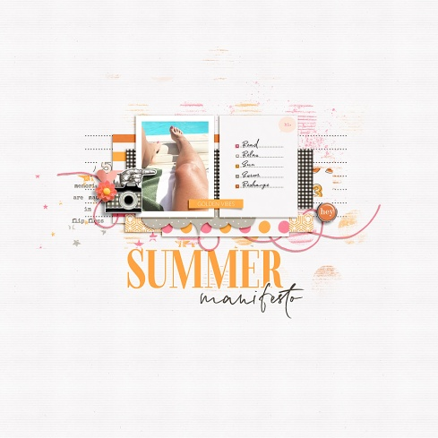 Summer Stories by Humble & Create Make It Count - March 2019 Templates by Anita Designs