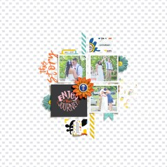 June Stuff | Collection by Rachel Etrog Designs Make It Count: August 2018 | Templates by Anita Designs