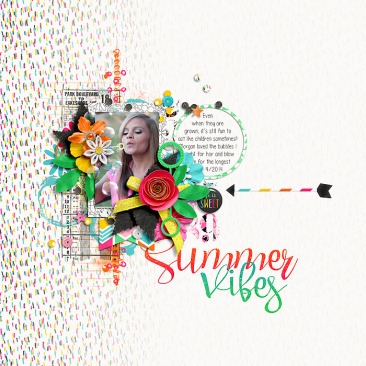 Summer Vibes | Collection by River~Rose A Million Little Things Templates by Crystal Livesay