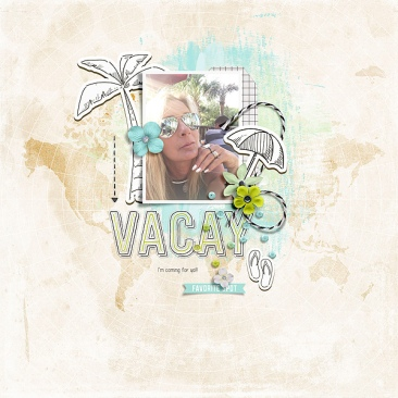 Go See Do Travel Mini Theme Kit Bundle - Storyteller 2019 July Add-on by Just Jaimee Simply Clean No9 by Designed by Soco