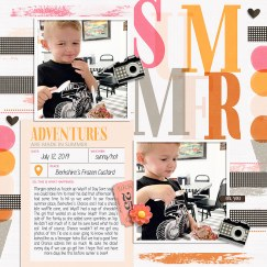 Summer Stories Bundle by Humble & Create Quick Scraps Vol. 8 | Simple Joys add on by Anita Designs