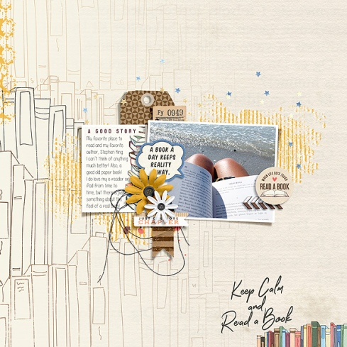 I Like Big Books Mini Theme Kit Bundle - Storyteller September 2019 Add-on by Just Jaimee