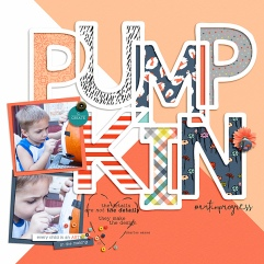 Artist Kit by Sabrina's Creations Fall Fun Templates by Scrapping with Liz