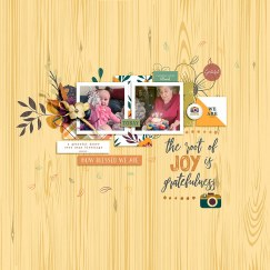 Oh So Thankful | Collection by Gone Digital Designs Make It Count April 2019 | Templates by Anita Designs