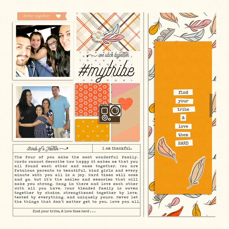 Birds of a Feather | Bundle 3 by Humble and Create A Story Captured Vol 15 | Part 2 by Anita Designs