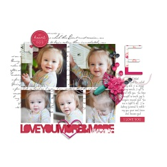 Monthly Memories: Always and Forever | Elements by Cornelia Designs Pocket Basics Vol 2 | Photo Templates by Cornelia Designs