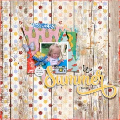 Summer Joy Elements by Amy Wolff Summer Joy Papers by Amy Wolff Summer Joy Misc by Amy Wolff Wildflower Templates by Pink Reptile Designs